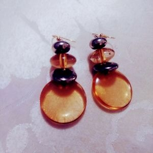 My design dangle earrings